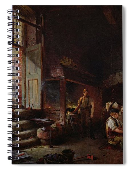 Sheffield Scythe Tilters Spiral Notebook