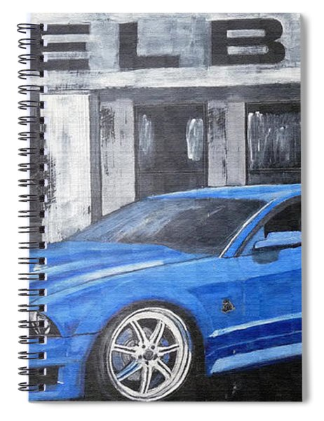 Shelby Mustang Spiral Notebook