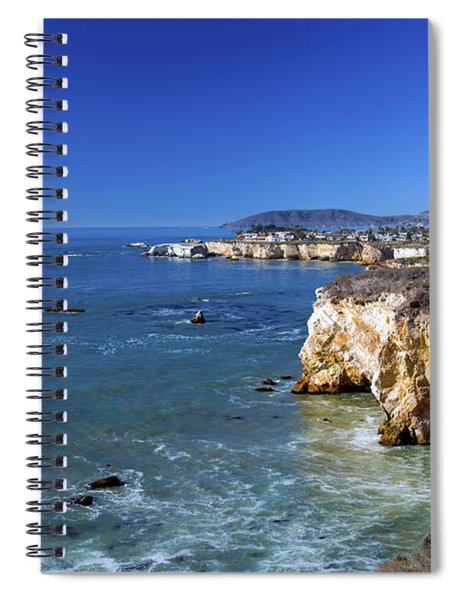Shell Beach California Spiral Notebook