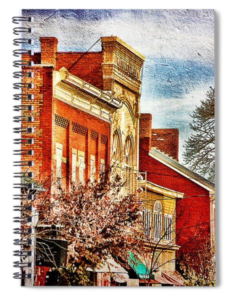 Shepherdstown - East German Street In November Spiral Notebook