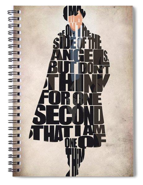 Sherlock - Benedict Cumberbatch Spiral Notebook