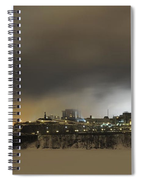 Shimmer Of Pearl.. Spiral Notebook