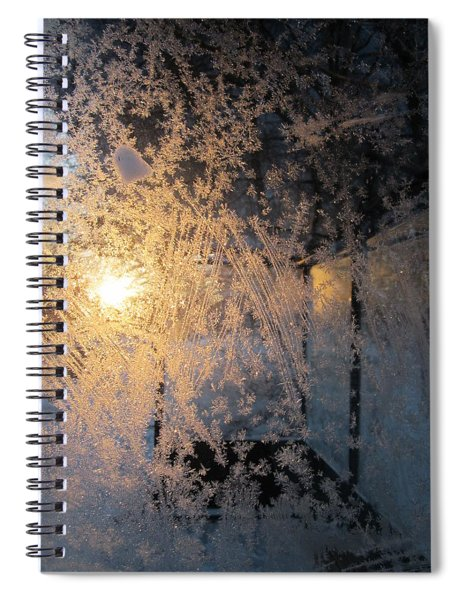 Shines Through And Illuminates The Day Spiral Notebook