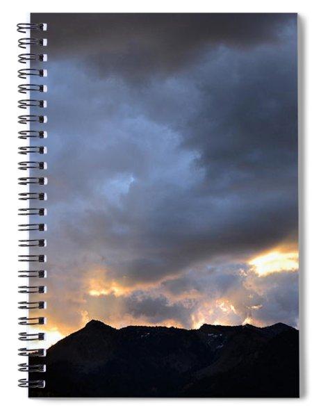Shining Through Spiral Notebook