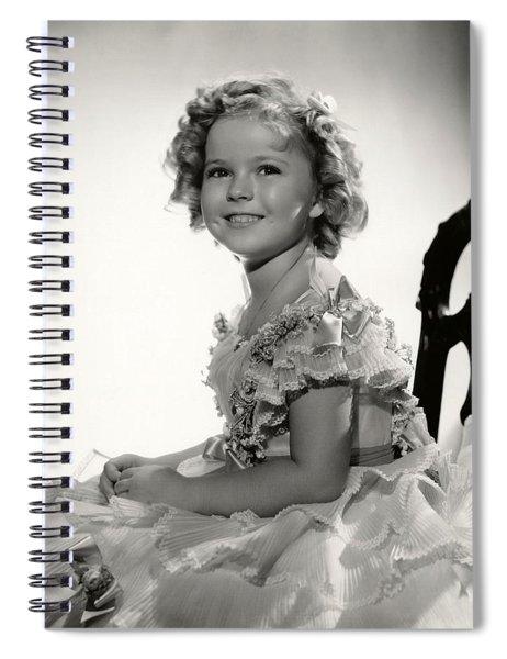 Shirley Temple Portrait Spiral Notebook