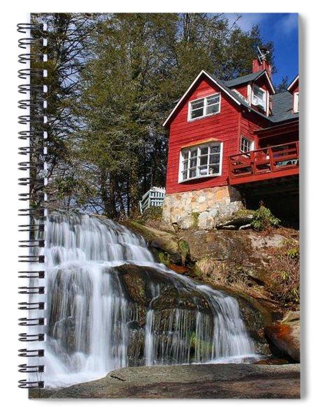 Shoal Creek Falls  Spiral Notebook