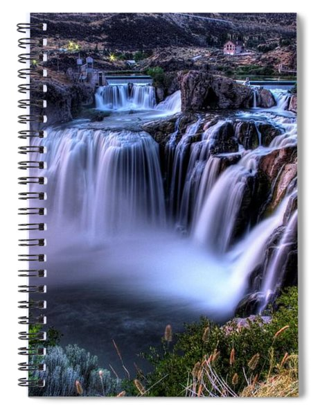 Shoshone Falls Spiral Notebook