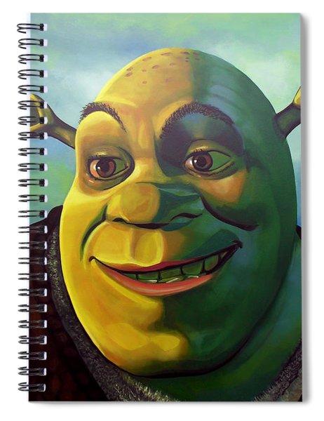Shrek Spiral Notebook