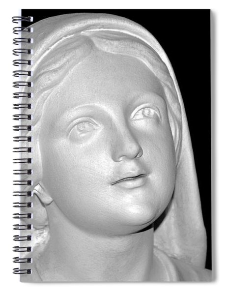 Shrine At Franciscan Monastery Spiral Notebook