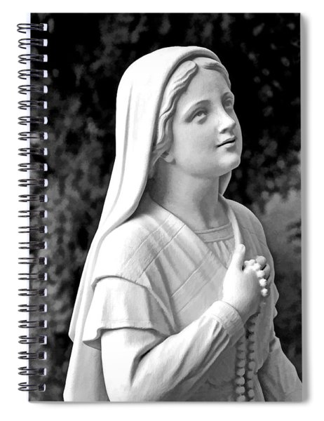 Shrine In Maine Spiral Notebook