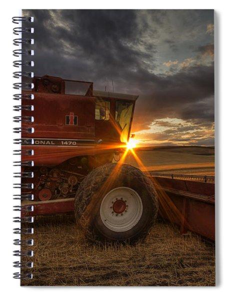 Shut Down Spiral Notebook