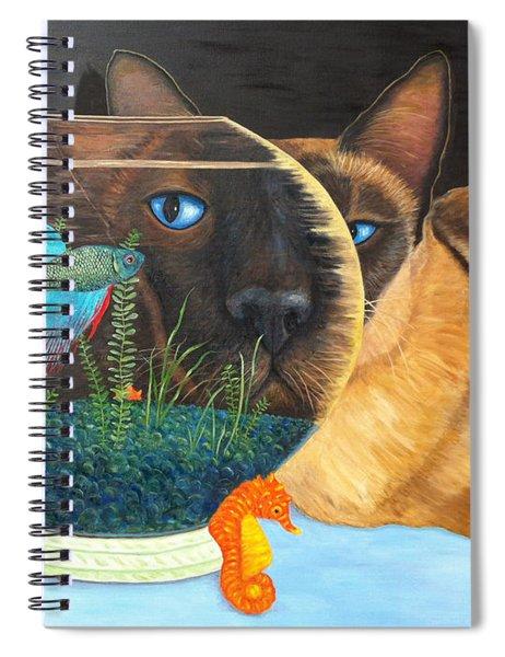 Siam I Am Spiral Notebook