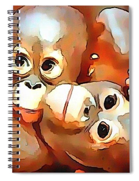 Siblings Spiral Notebook