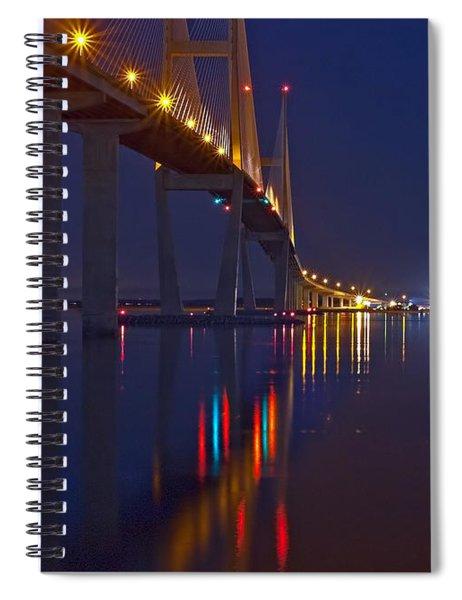 Sidney Lanier At Night Spiral Notebook