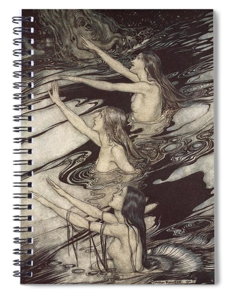 Siegfried Siegfried Our Warning Is True Flee Oh Flee From The Curse Spiral Notebook