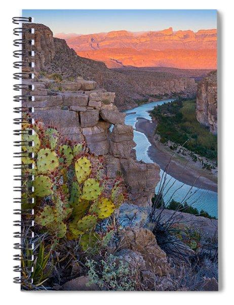 Sierra Del Carmen And The Rio Grande Spiral Notebook
