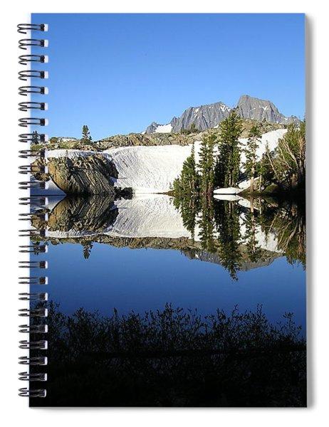 Sierra Reflection I Spiral Notebook