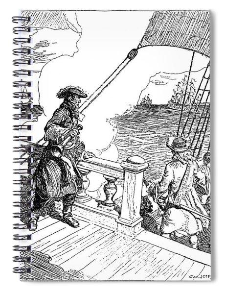 Sieur D'iberville (1661-1706) Spiral Notebook