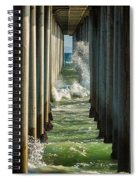 Sign Wave Spiral Notebook