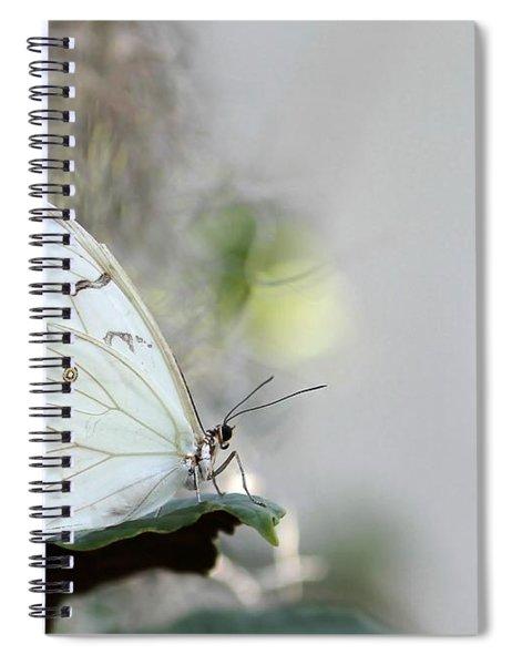 Silent Beauty Spiral Notebook