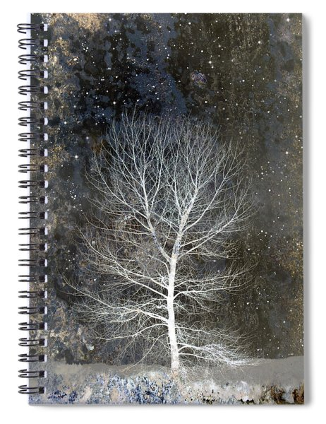 Silent Night Spiral Notebook