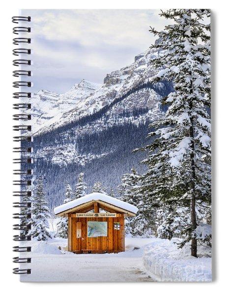 Silent Winter Spiral Notebook