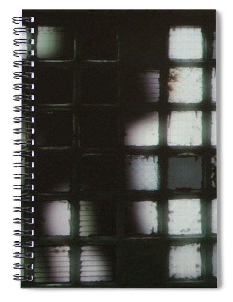 Shadow Previously Titled Silhouette Spiral Notebook