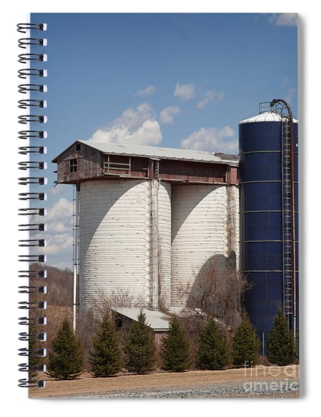 Silo House With A View - Color Spiral Notebook