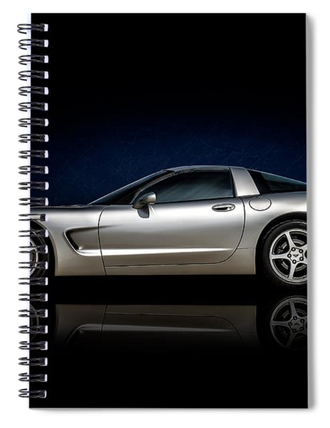 Silver C5 Spiral Notebook