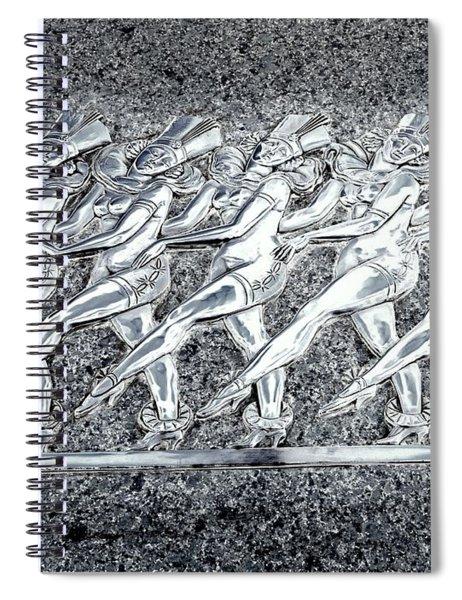 Silver Rockettes Spiral Notebook
