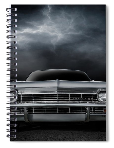 Silver Sixty Five Spiral Notebook