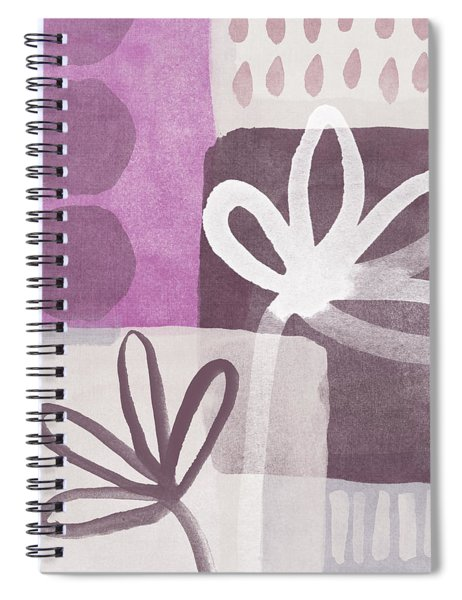 Simple Flowers- Contemporary Painting Spiral Notebook