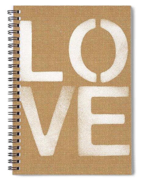 Simple Love Spiral Notebook