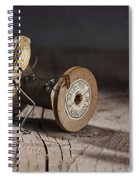 Simple Things - Rolling The Thread Spiral Notebook