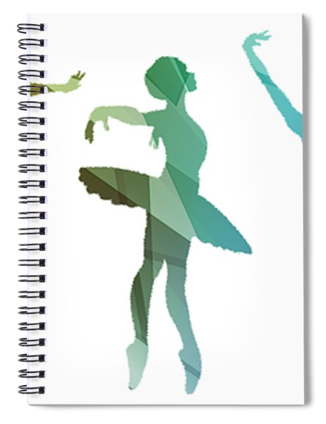 Simply Dancing 3 Spiral Notebook