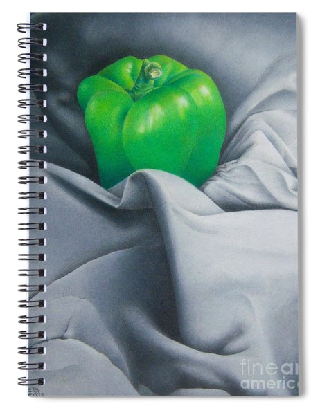 Simply Green Spiral Notebook