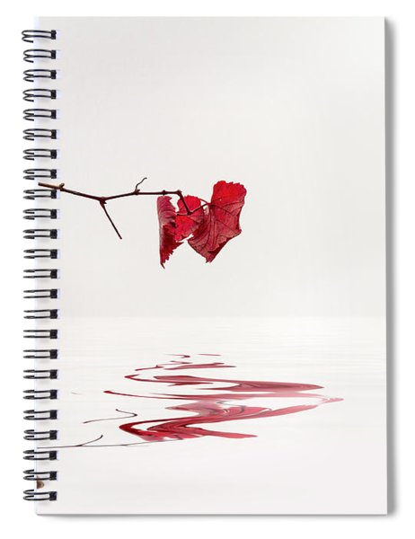 Simply Leaves Spiral Notebook