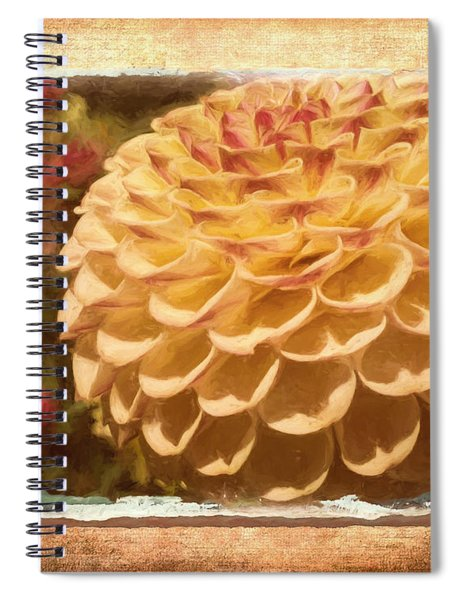 Simply Moments - Flower Art Spiral Notebook