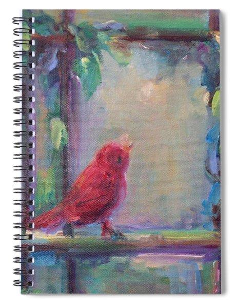 Sing Little Bird Spiral Notebook