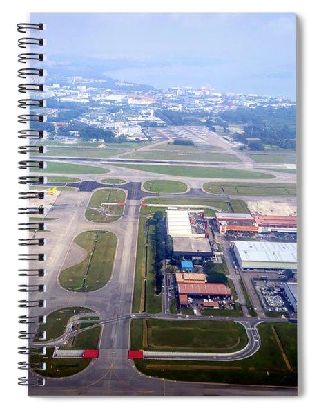 Singapore Airport Spiral Notebook