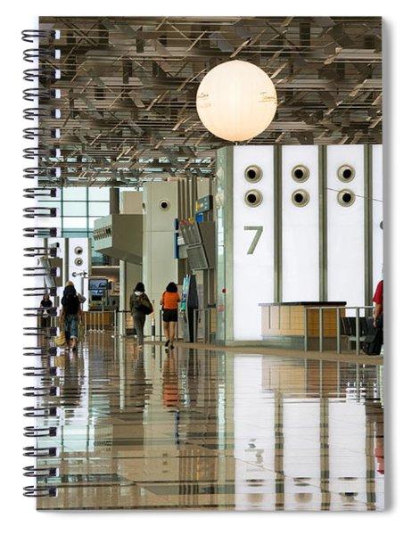Singapore Changi Airport 02 Spiral Notebook
