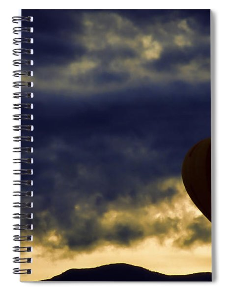 Single Ascension Spiral Notebook