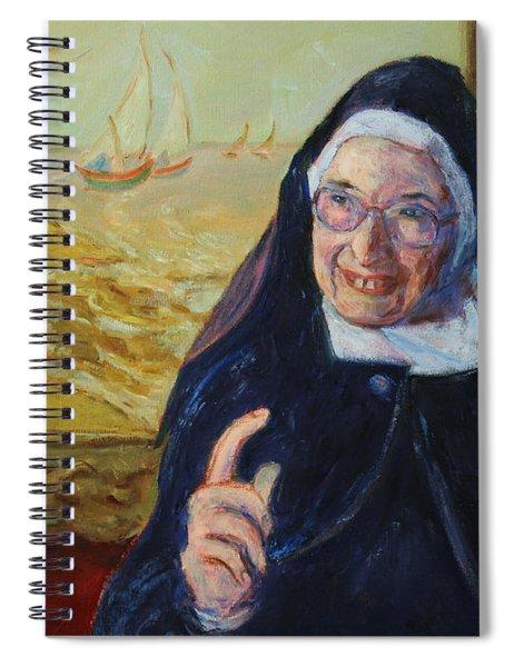 Sister Wendy Spiral Notebook