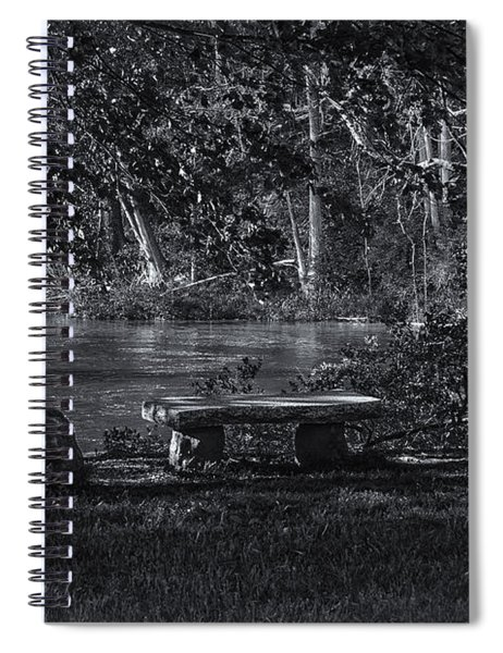 Sit And Ponder Spiral Notebook