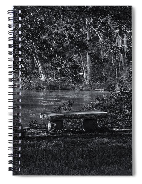 Sit And Ponder Spiral Notebook