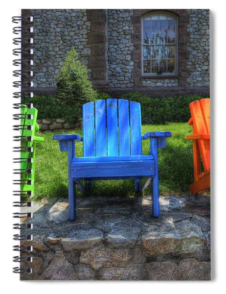 Sit Back Spiral Notebook