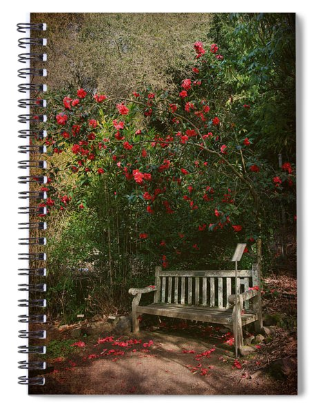 Sit With Me Here Spiral Notebook