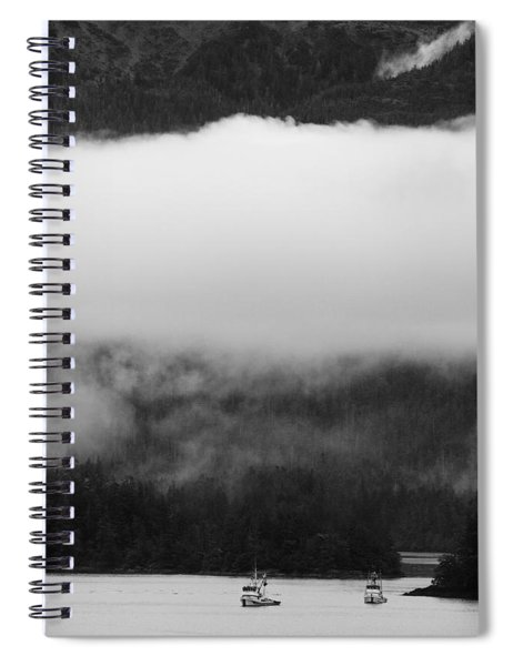 Sitka Fishing Boats Spiral Notebook