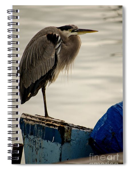 Sittin' On The Dock Of The Bay Spiral Notebook