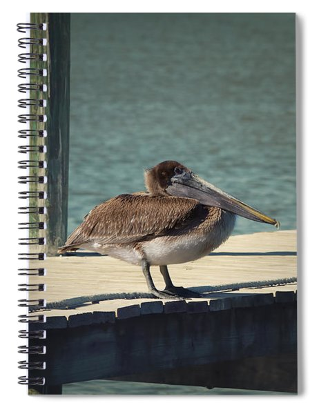 Sitting On The Dock Of The Bay Spiral Notebook